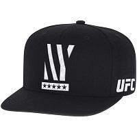 Men's Reebok Black UFC 205 New York City Authentic Snapback Adjustable Hat