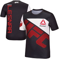 Men's Reebok Brock Lesnar Black UFC Jersey