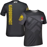 Men's Reebok Cody Garbrandt Black UFC 207 Champion Jersey