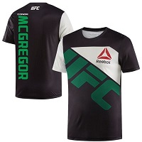 Men's Reebok Conor McGregor Black UFC Jersey