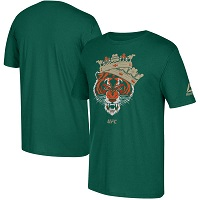 Men's Reebok Conor McGregor Green UFC Tiger King T-Shirt
