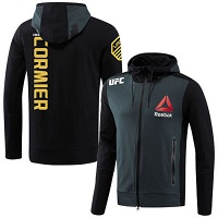 Men's Reebok Daniel Cormier Black UFC Champion Full-Zip Hoodie