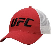 Men's Reebok Red UFC Mesh Back Slouch Adjustable Hat