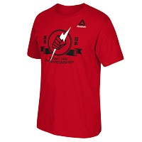 Men's Reebok Red UFC Pride Banners T-Shirt