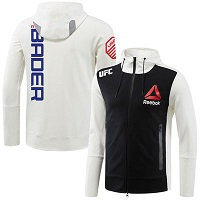 Men's Reebok Ryan Bader Chalk UFC Fight Night Walkout Hoodie
