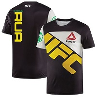 Men's Reebok Shogun Rua Black UFC Jersey