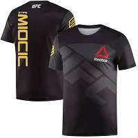Men's Reebok Stipe Miocic Black UFC Champion Jersey