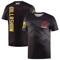 Men's Reebok TJ Dillashaw Black UFC Champion Jersey