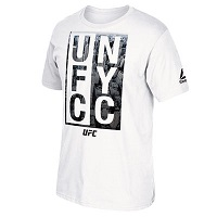 Men's Reebok White UFC 205 NYC T-Shirt