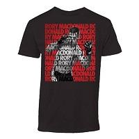 Men's Rory MacDonald Black UFC 189 Fighter Repeat T-Shirt