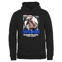 Mens UFC 180 Black Fabricio Werdum Pullover Hoodie