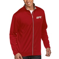 Mens UFC Antigua Red Leader Full Zip Jacket
