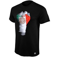 Mens UFC Black Mexico Fist T-Shirt