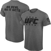 Mens UFC Gray Militant T-Shirt