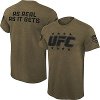 Mens UFC Green Militant T-Shirt
