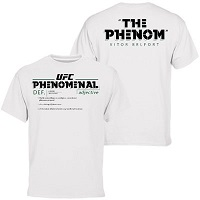 "Men's Vitor ""The Phenom"" Belfort White UFC 187 Phenomenal T-Shirt"
