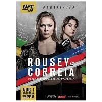 Rousey vs. Correia UFC 190 Event Poster