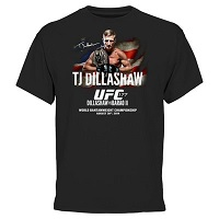 T.J. Dillashaw UFC 177 T-Shirt - Black
