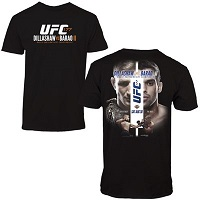 T.J. Dillashaw vs. Renan Barao UFC 177 Event T-Shirt - Black