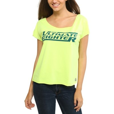 Team Pettis UFC TUF 20 Womens Dolman T-Shirt – Yellow