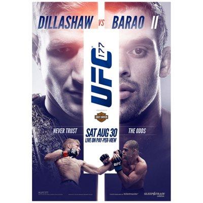 UFC 177 Poster