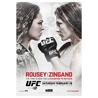 UFC 184 Event Poster