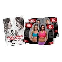 UFC 184 Event Program