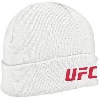 UFC Antigua Brisk Knit Beanie – White