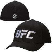 UFC Basic Logo Flex Hat – Black