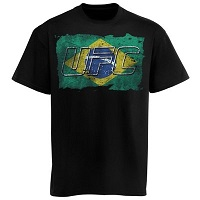 UFC Brazil Flag T-Shirt – Black