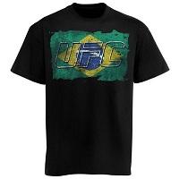 UFC Brazil Flag T-Shirt – Black