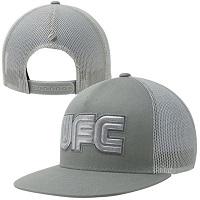 UFC Glitter Juniors Adjustable Trucker Hat - Gray