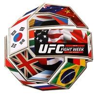 UFC International Fight Week Lapel Pin Collection