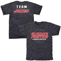 UFC Jon Jones Aliner Tri-Blend T-Shirt - Navy Blue