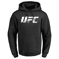 UFC Smoke Logo Pullover Hoodie - Black