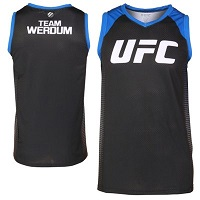 UFC TUF LATAM Team Werdum Coaches Jersey Tank Top – Black
