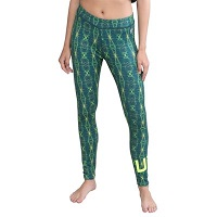 UFC Team Pettis Juniors The Ultimate Fighter 20 Compression Pants - Teal