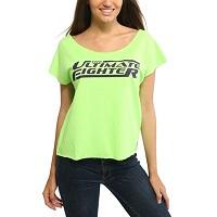 UFC Womens The Ultimate Fighter 20 Team Melendez Dolman T-Shirt – Neon Green