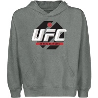 UFC Youth Fight Deck Pullover Hoodie - Gunmetal