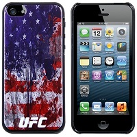 UFC iPhone 5 USA Hard Case