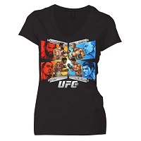 Womens Black UFC 181 Alternate Event T-Shirt