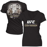 Women's Cain Velasquez vs. Fabricio Werdum Black UFC 188 Event T-Shirt