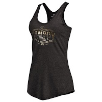 Women's Donald Cerrone Black UFC Buckle Racerback Tank Top