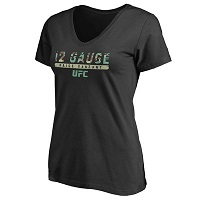 Women's Paige VanZant Black UFC Siege Slim Fit T-Shirt