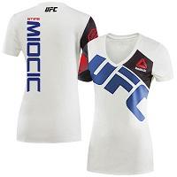 Women's Reebok Stipe Miocic Chalk/Blue UFC Jersey