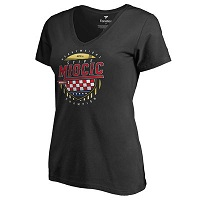 Women's Stipe Miocic Black UFC 203 Heavyweight Division Champion V-Neck T-Shirt