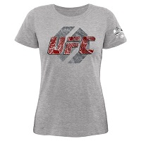 Women's UFC Gray Dragon Skin Too T-Shirt