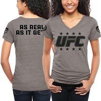 Women's UFC Blue Hammerfist T-Shirt