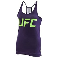 Women's UFC Purple Team Melendez TUF 20 Mesh Back Tank Top