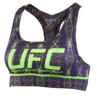 Women's UFC Purple Team Melendez TUF 20 Sports Bra